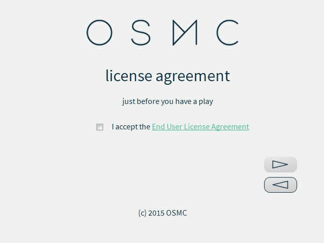 OSMC Endbenutzervereinbarung