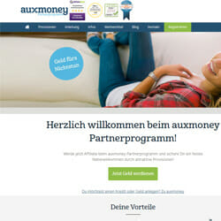 auxmoney Partnerprogramm