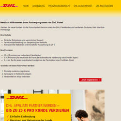 DHL Partnerprogramm