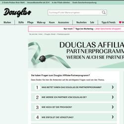 Douglas Partnerprogramm