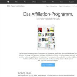 iTunes Partnerprogramm